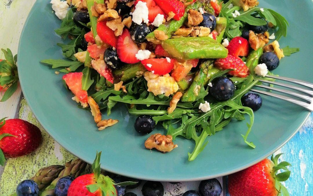 Erdbeer- Spargel-Salat